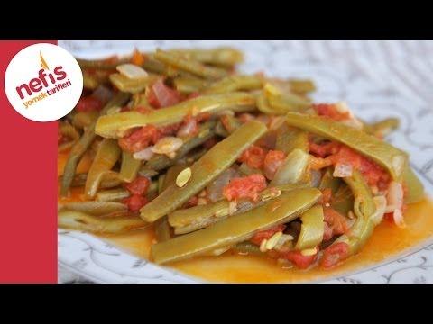 Zeytinyağlı Taze Fasulye Tarifi | Nefis Yemek Tarifleri