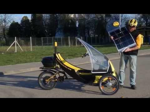 recumbent urban tricycle BEE