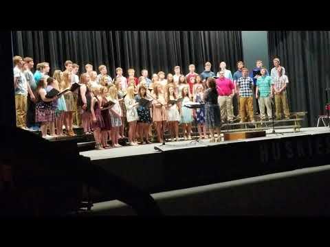 "Bridgewater Emery HS Choir ""Sign of the Times"""