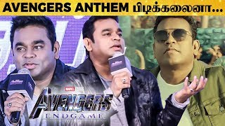 AR Rahman's Reply to Fans Response on AVENGERS: Endgame Anthem | TN