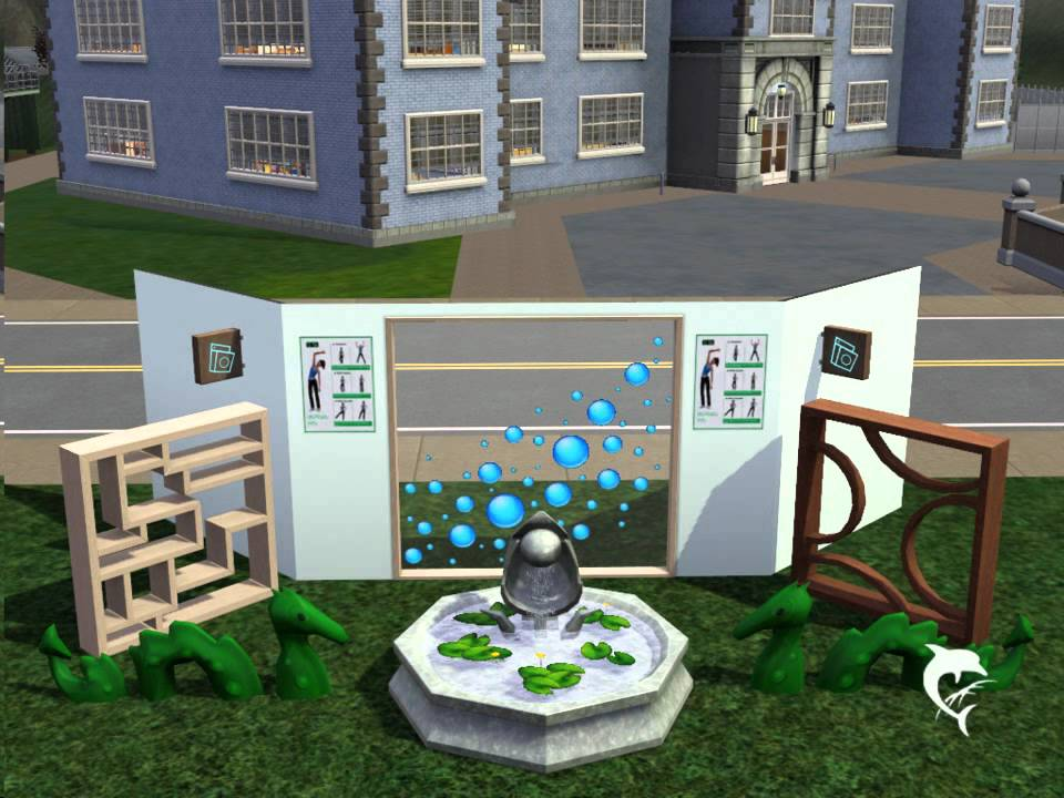 Sims 3 Stadt Accessoires Alle Objekte YouTube