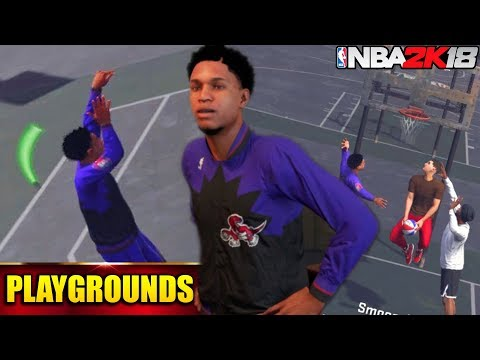NBA 2K18 Playgrounds: Sharpshooting Shot Creator Green For Days! Getting Carried!