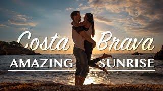 SPAIN | TRAVEL VLOG (Couple VLOG) // BEST SUNRISE EVER IN COSTA BRAVA!!