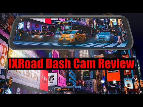IXRoad Dash Cam Mirror Review (with Great Night Vision)