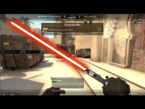 Cs Go ★ Bayonet Lightsaber Ft Better Than Gloves Case