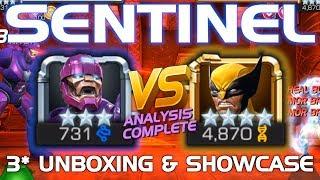 Sentinel Unboxing & Duel vs. Wolverine (