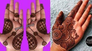 Front hand mehndi designs    simple mehendi design front hand    front mehndi design