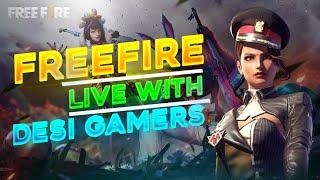 Ghar Baitho Game Khelo || Free Fire Live - Desi Gamers