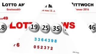 Lottozahlen: Gewinnzahlen vom Lotto am Mittwoch 13.01.2016