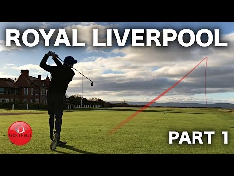 ROYAL LIVERPOOL GOLF COURSE VLOG - PART 1