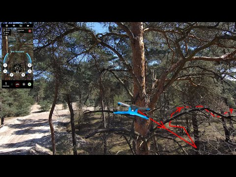 Amazing Path Finding Ability Of The Skydio 2 In A Forest