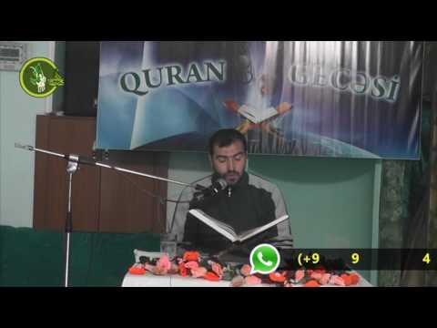 Hacı Ruslan Quran tilaveti Masazir məscidi