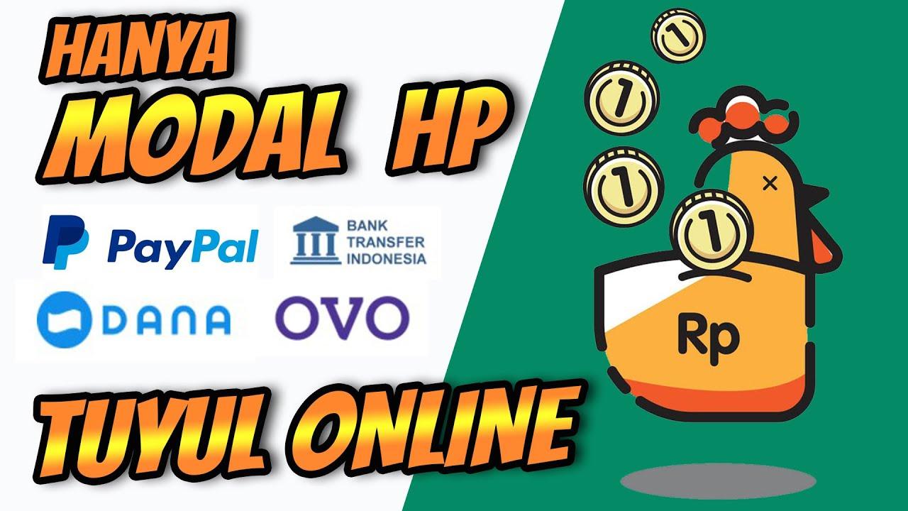 Tuyul Online Cara Dapat Uang dari Internet menggunakan HP Aja