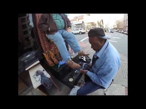 Raymond, The Singing Shoeshine Man From Little Rock, AR