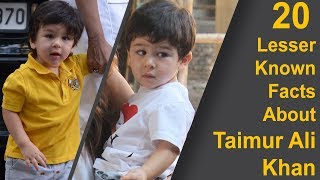 Taimur Ali Khan: 20 Lesser Known Facts About India's Most Loved Baby Boy
