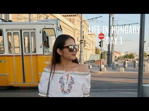 Travel Vlog l Hungary day 1  ฮังการีพี่มาแล้ว l Pair Patteera