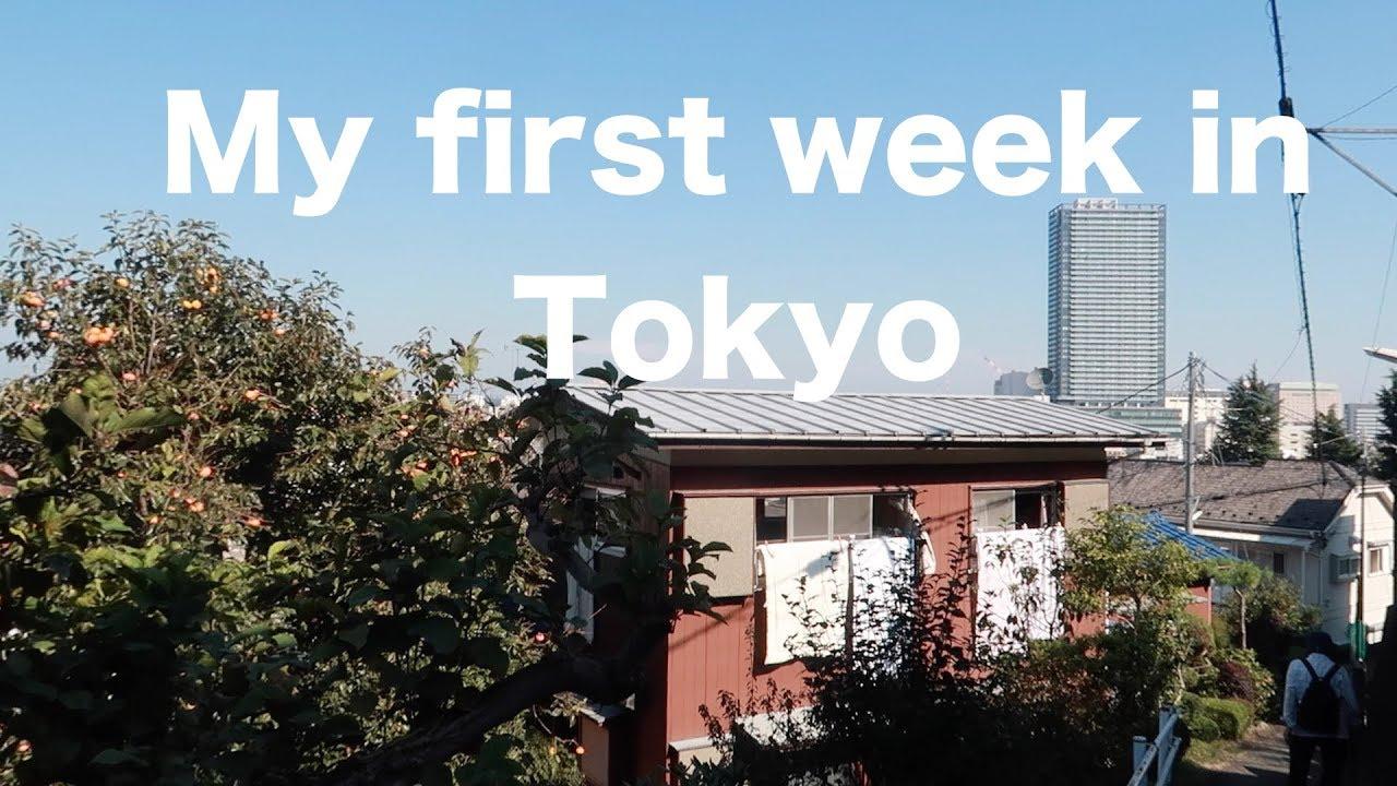 My first week in Tokyo | Vlog