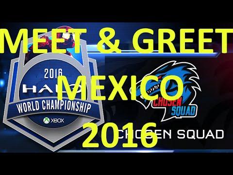 HALO 5 WC 2016 - MEET & GREET  con  Frank O´Connor - Mexico