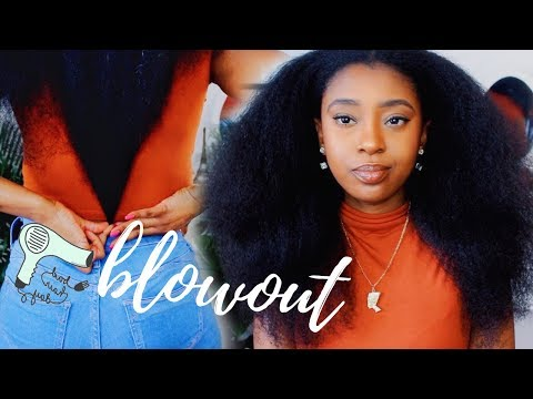Quick & Easy BlowOut On Natural Hair | Philips ProCare Airstyler Review