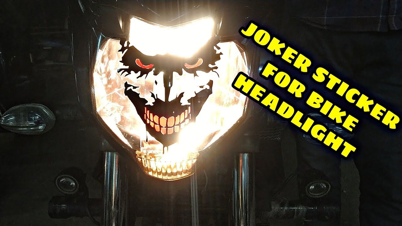 Bike Headlight Joker