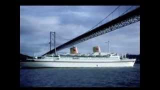 MS Europa, ex Kungsholm, Hapag-Lloyd, Wenn die kleinen Veilchen blühen - Robert Stolz