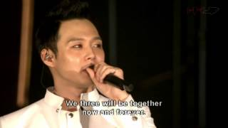 JYJ Concert in Tokyo Dome 2013 - Closing Talk (Eng sub)