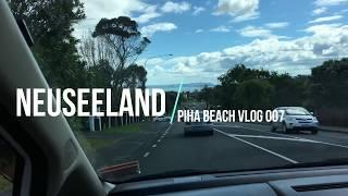 Work and Travel Neuseeland  Piha Beach  Vlog 007