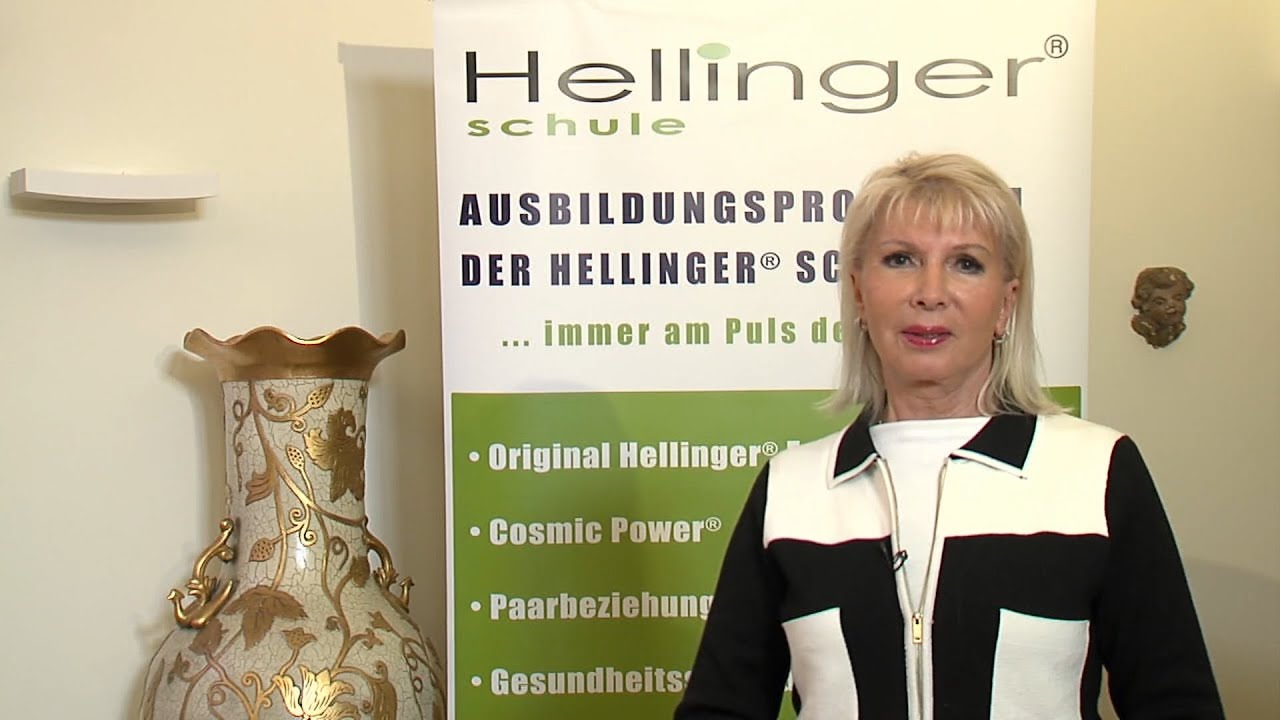"""""""Me and my Strength"""" - Announcement of the Training for Family Constellator // Sophie Hellinger"""