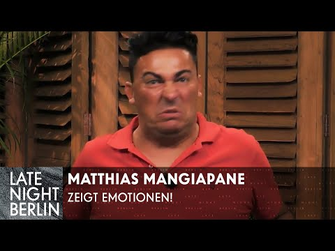 Matthias Mangiapane zeigt große Emotionen! Reality Show Master Class   Late Night Berlin   ProSieben