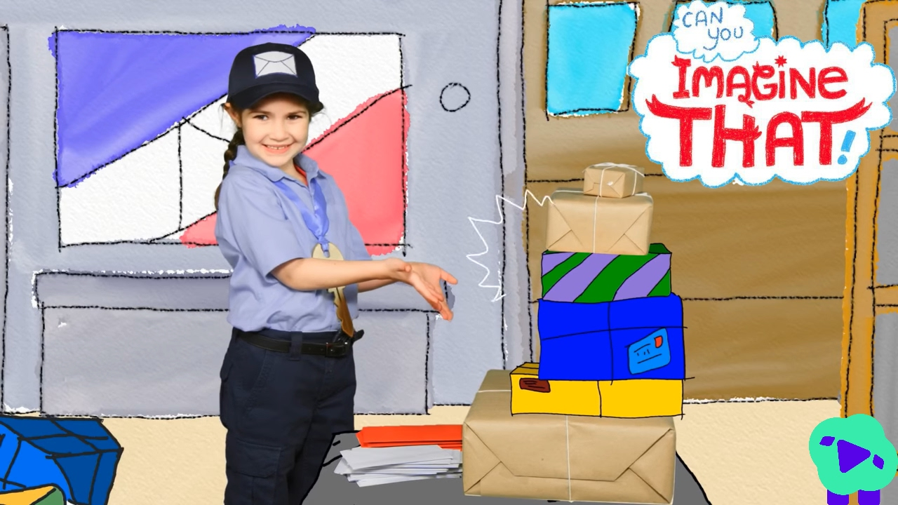 Community Helpers Day 3--Mail Carriers