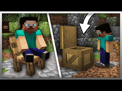 ✔️ NEW LOCKED CRATES In Minecraft! (Furniture Mod Update)