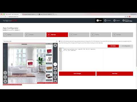How to create a Wikitude furniture app in 5 minutes! - ViewAR Tutorial