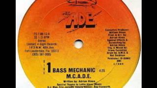 MC ADE - BASS MECHANIC VOCAL E BONUS VERSION