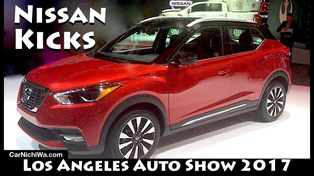 Nissan Los Angeles >> 2018 Nissan Kicks | Los Angeles Auto Show 2017