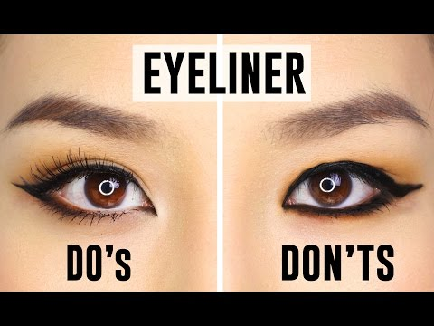12 COMMON EYELINER MISTAKES YOU COULD BE MAKING | Dos and Donts