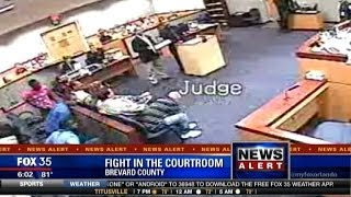 Judge Fights Lawyer Outside Courtroom
