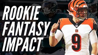 Fantasy Football Rookie Impact Performers | Fantasy Football 2020