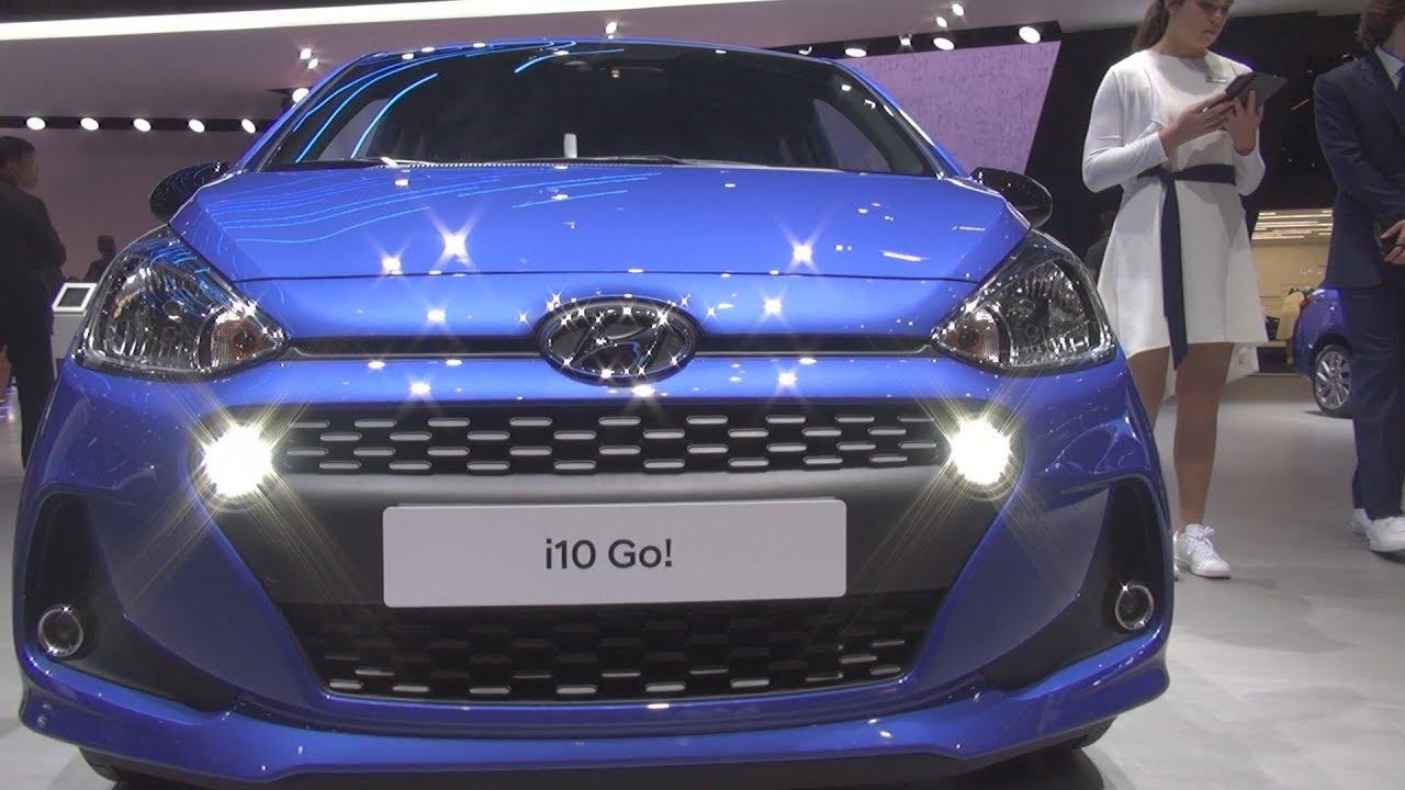Hyundai I10 Go Plus 2018 Exterior And Interior Youtube