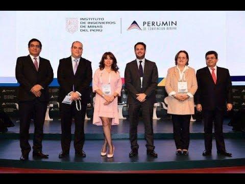 Participación de la Presidenta del OEFA en PERUMIN33