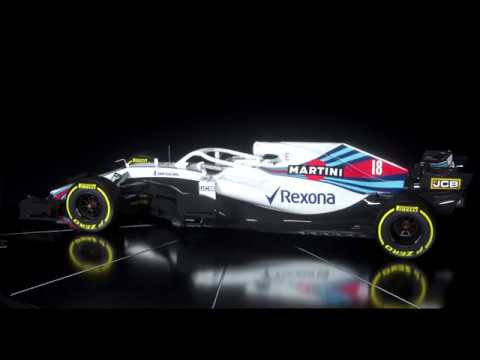 williams fw41 f1 2018 new formula one car with halo youtube. Black Bedroom Furniture Sets. Home Design Ideas