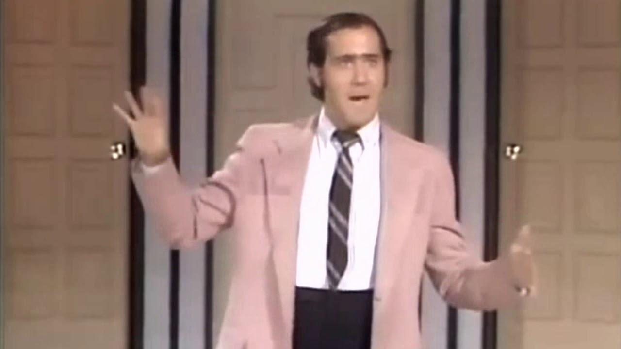Andy Kaufman Dick Van Dyke Fonzie look a like 1976