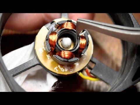 ТО вентиляторов с подшипниками скольжения (sleeve Bearing)
