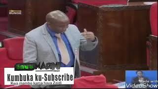 """Mbunge """"BWEGE"""" ALIVYOZUA ZOGO na kuchcchamaa BUNGENI mpaka Chenge ataka kumtoa Njee 22-06-2018"""