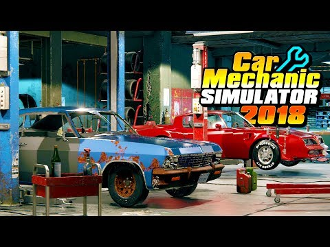 EPIC CAR MECHANIC SIMULATOR! JUNKYARDS & BARN FINDS!? - Car Mechanic Simulator 2018 Gameplay Part 1