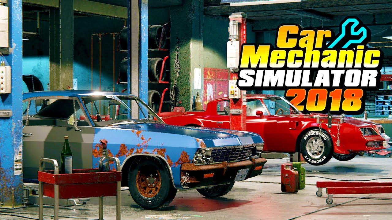 epic car mechanic simulator junkyards barn finds. Black Bedroom Furniture Sets. Home Design Ideas
