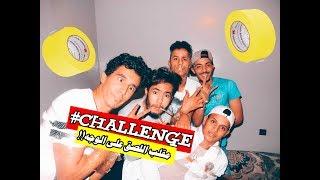 #scotch challenge|| تحدي اللصق على الوجه!! و صار الي صار ! لا يفوتك#