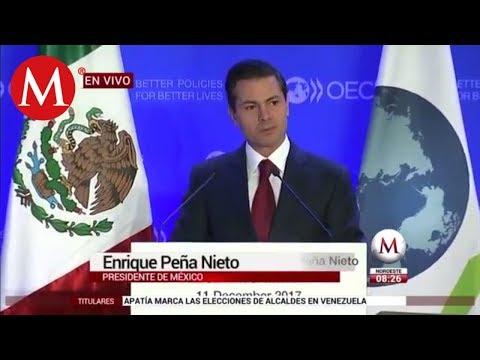 Mensaje de Peña Nieto ante la OCDE en París