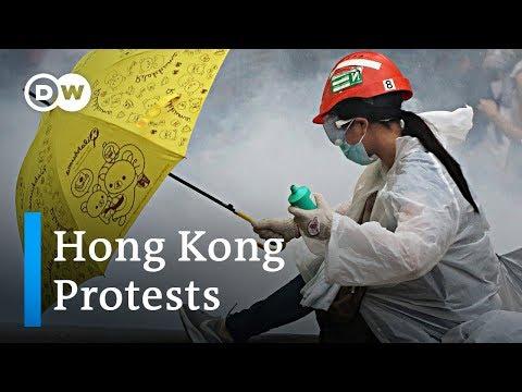 Hong Kong protest turns violent   DW News