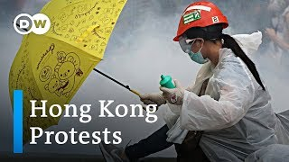 Hong Kong protest turns violent | DW News