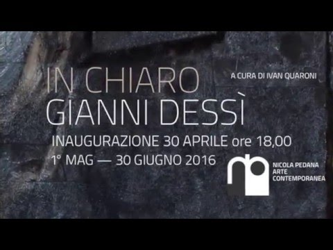 Gianni Dessì Alla Galleria Pedana Caserta